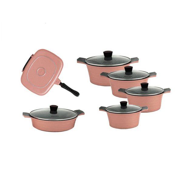 سرویس پخت و پز ۱۰ پارچه دسینی مدل Rejina