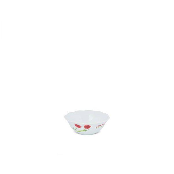 آرکوپال سرویس غذاخوری ٢۶ پارچه برند دسینی طرح لورنزا قرمز